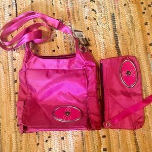 MVF by Littlearth Crossbody Bag & Wristlet